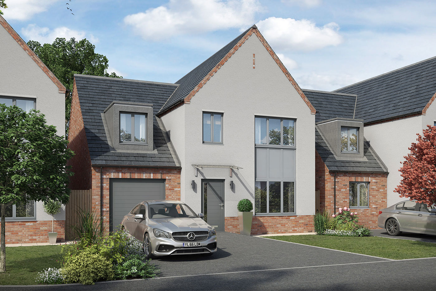 4 bedroom house Lincolnshire