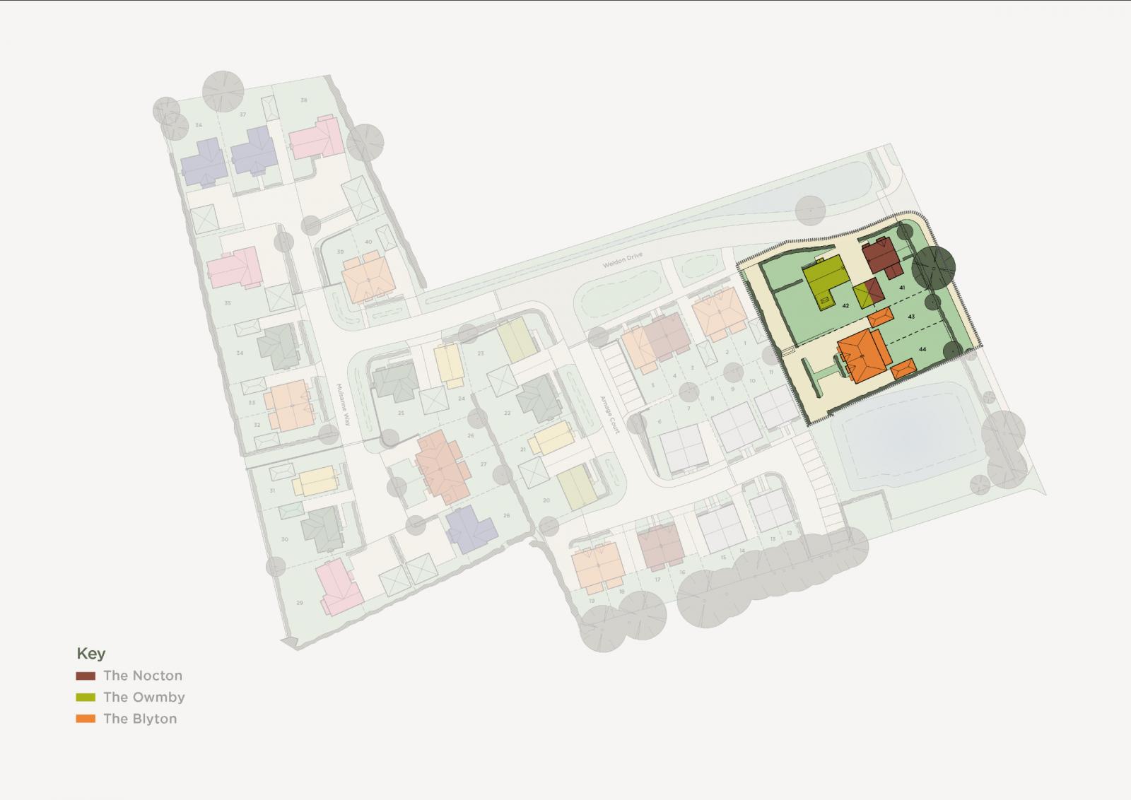 Lodge Lane Site Plan